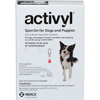 Image of Activyl For Very Small Dogs 4-14 lbs Pink 4 Pack