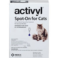 Image of Activyl For Large Cats Over 9lbs Purple 4 Pack