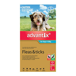 K9 Advantix Medium Dogs 11-20 Lbs (aqua) 12 Doses