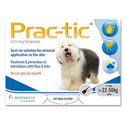 PracTic_Spot_On_Large_Dog_50110_Lbs_White_12_Pack