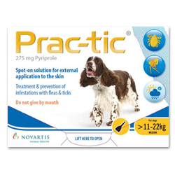 PracTic_Spot_On_Medium_Dog_2550_Lbs_Yellow_12_Pack
