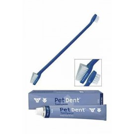 Pet Dent Toothpaste and Toothbrush