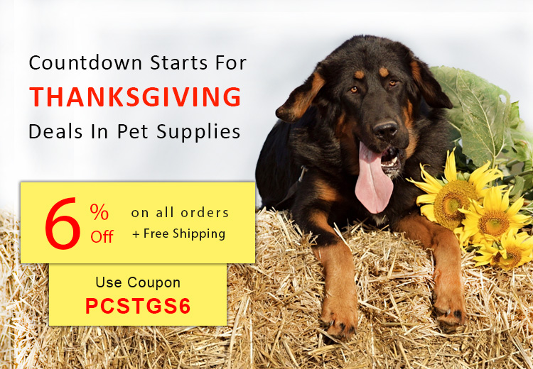 thanksgiving deals, sales, offers and discounts for pets