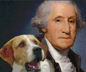 george_washington_and_his_dog