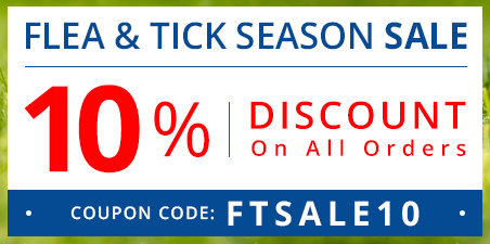 Flea and Tick Season Deals