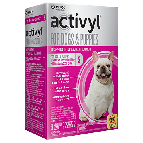 Activyl For Small Dogs 14-22 Lbs Orange 4 Pack