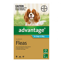 Advantage Medium Dogs 11-20lbs (Aqua) 6 Doses