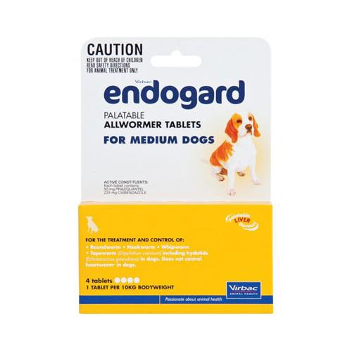 Endogard For Medium Dogs 22 Lbs (10kg) 1 Tablet