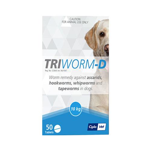 Triworm-D De-wormer