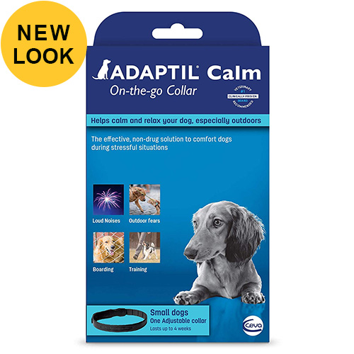 Adaptil Calm On-The-Go Collar 45cm For Small Dogs 1 Pack