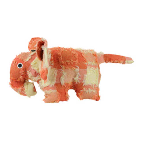 Hyper Patchwork Palz Elephant Dog Toy 20 Cm 1 Piece