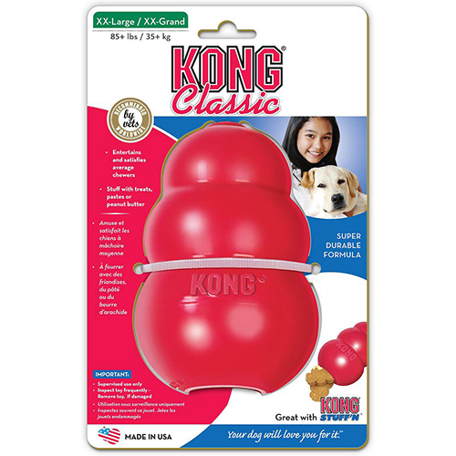 Kong Classic Chew Dog Toy Red