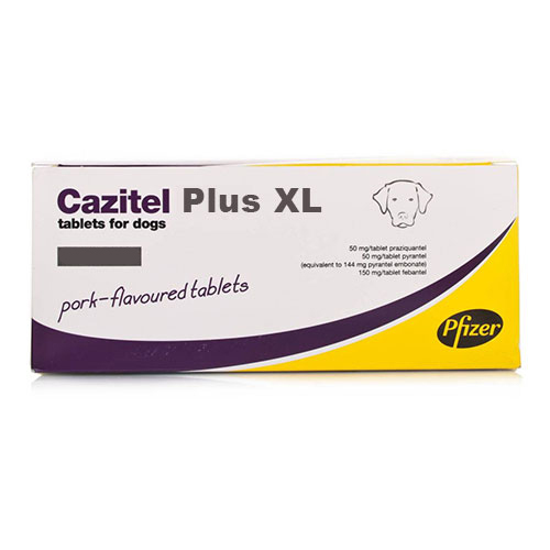 Cazitel Plus Xl Tablets For Large Dogs 2 Tablet