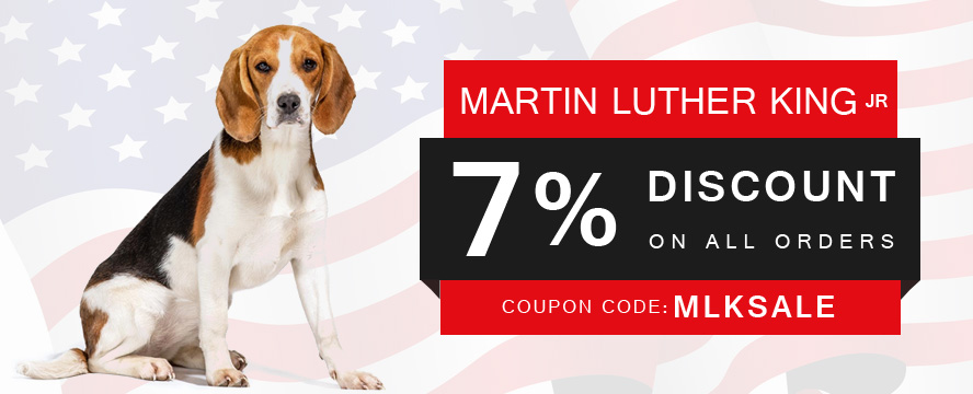 Get Extra 7% Discount Use Coupon:  MLKSALE