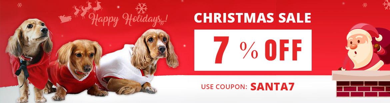 Get 7% Use Coupon: SANTA7