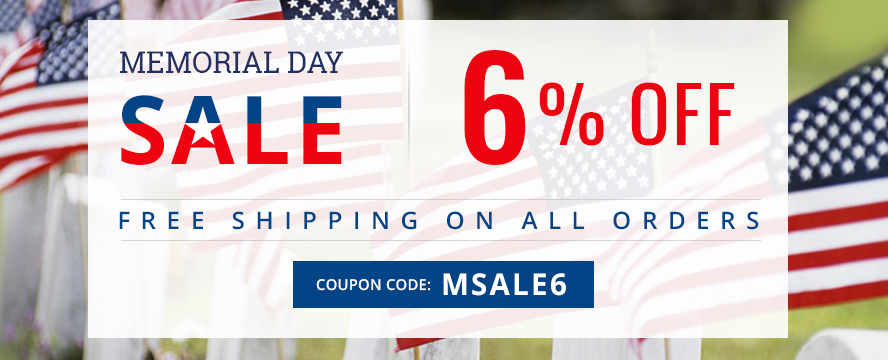 Get Extra 6% Discount Use Coupon:  msale6