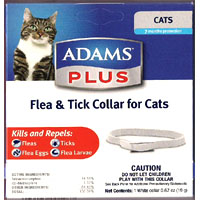 Adams Plus Breakaway Cat Collar