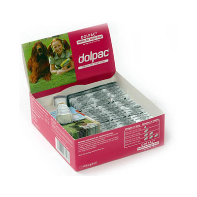 Dolpac Wormer Tablets for Large Dogs