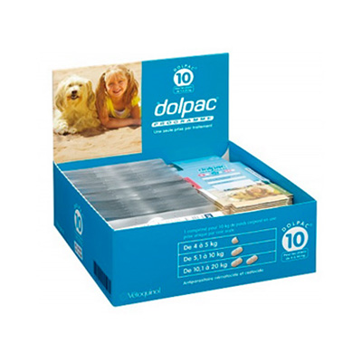 Dolpac Wormer Tablets for Medium Dogs