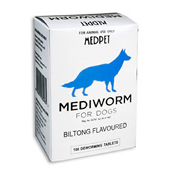 Mediworm for Small & Medium Dogs (10-22 lbs)