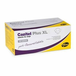 Cazitel Plus  XL Chewable Tablets for Large Dogs