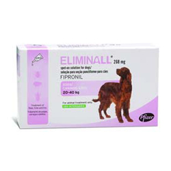 Eliminall Spot-On  for Large Dogs 45 to 88 lbs. (Pink)