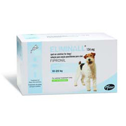 Eliminall Spot-On  for Medium Dogs 23 to 44 lbs. (Blue)