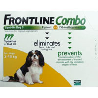 INOpets.com Anything for Pets Parents & Their Pets Frontline Plus (Known as Frontline Combo) for Small Dog 3 Doses