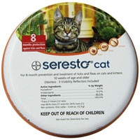 Seresto Cat Collar for Cats of All Weights 38 Cms